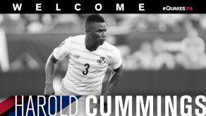 Harold Cummings nuevo jugador del San José Earthquakes en la MLS