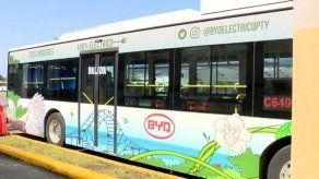 Bus eléctrico operará en Brisas del Golf hasta el 4 de diciembre