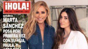 Marta Sánchez y su única hija posan juntas por primera vez ¡y parecen hermanas!