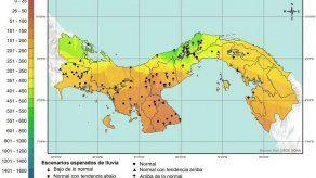 Etesa pronostica lluvias normales en los meses de diciembre