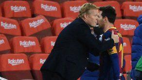 Tengo muchísimas esperanzas de que Messi siga en el Barcelona