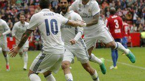 Isco rescata triunfo para un Madrid pensando en la Champions