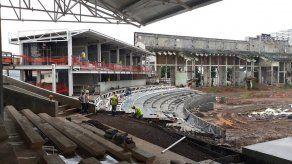 Remodelación del Estadio Juan Demóstenes Arosemena con 48 por ciento de avance