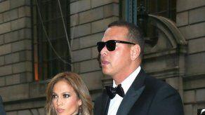 Las hijas de Alex Rodríguez se integran en el séquito de Jennifer Lopez