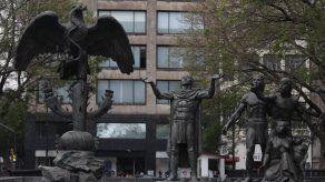 Monumento de la fundación México Tenochtitlan.