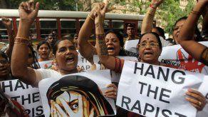 India pide pena capital en violaciones de menores de 12 años