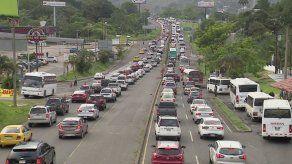 Nuevo horario de inversión de carriles de Panamá Oeste a la capital