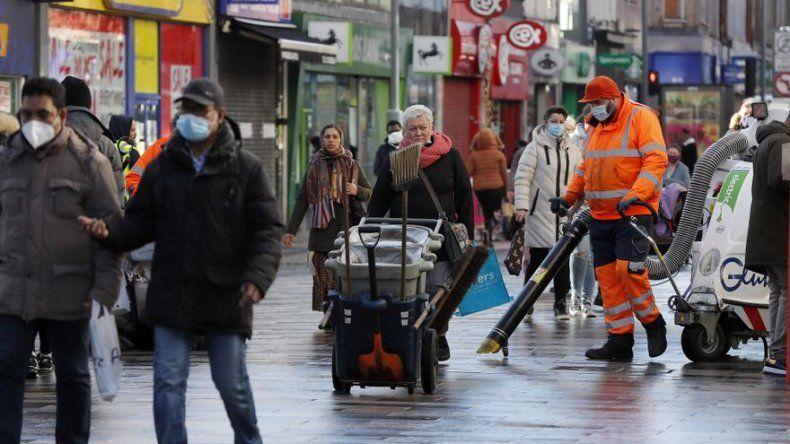 Barrio londinense de inmigrantes con altas tasas de COVID-19