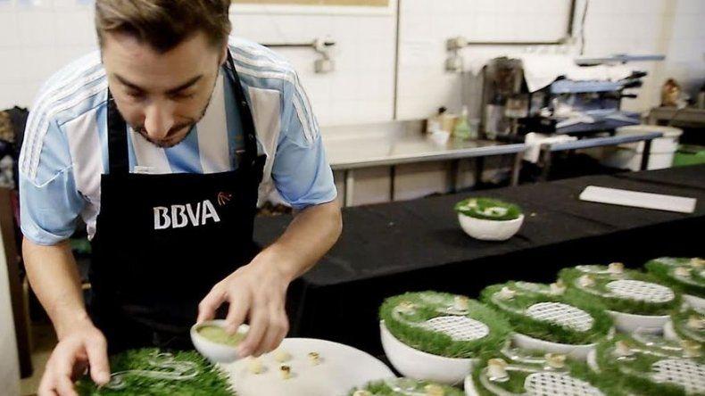 Choripán, mate y Malbec en menú argentino de los mejores cocineros del mundo