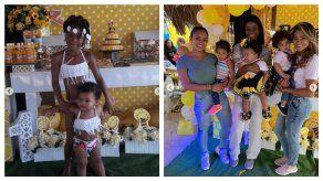 Yoani Ben celebra el primer año de su hija Maya