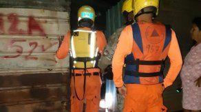 Reportan varias casas afectadas por mareas altas en Puerto Caimito