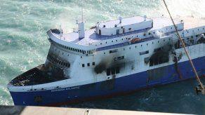 El estado del mar impide remolcar el Norman Atlantic hacia Italia