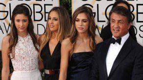 Las hijas de Sylvester Stallone no se plantean seguir sus pasos