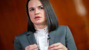 La Fiscalía bielorrusa abre un caso penal contra líder opositora por terrorismo
