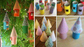 8 formas creativas de reutilizar cilindros de papel higiénico