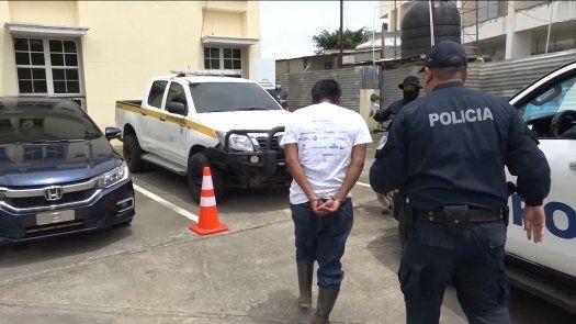 El privado de libertad Oscar Garay Bonilla, implicado presuntamente a los delitos de femicidio y violación sexual agravada en perjuicio de una menor de edad, en Chiriquí.