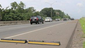 Remueven resaltos de autopista Arraiján – La Chorrera