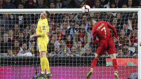 Portugal empata sin goles con Ucrania en regreso de Ronaldo