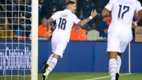 El PSG gana 1-0 al Brujas y avanza a octavos de la Champions