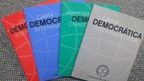 Almagro invoca Carta Democrática Interamericana a Venezuela