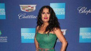 Salma Hayek regresa a la televisión tras sus inicios en las telenovelas