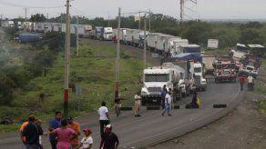 Grupo de transportistas que estaban varados en Nicaragua regresaron a Panamá