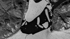 En Groenlandia se fractura por el calor el principal casquete glaciar