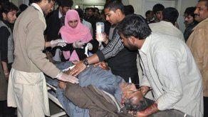 Veintena de muertos por ataque suicida en Pakistán