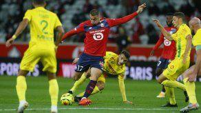 Lille es líder en Francia con triunfo ante Nantes