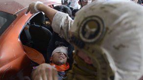 Al menos 230 chilenos cegados por disparos de la policía