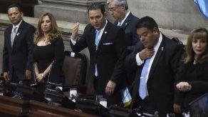 Morales deja la presidencia de Guatemala con una administración estable