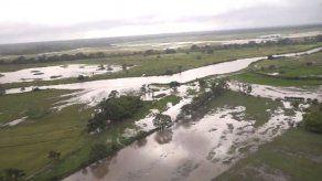 ISA registra 12 productores afectados en Tierras Altas por inundaciones