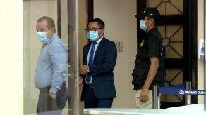Noveno día del juicio oral seguido al diputado del Partido Revolucionario Democrático (PRD), Arquesio Arias.
