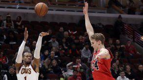 Cavaliers vence a Bulls y rompe racha de seis derrotas