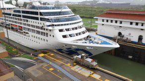 Canal de Panamá anuncia cierre de la temporada de cruceros con el paso del panamax Pacific Princess