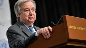 Guterres recuerda desafíos del proceso de paz en Colombia