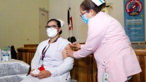 Avanza la vacunación contra la influenza.