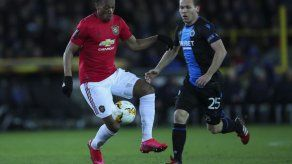 Man United empata 1-1 con Brujas; Inter gana en Bulgaria