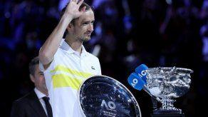 Medvedev superará a Nadal y será N.2 de la ATP el 15 de marzo