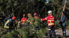 Protección Civil lusa eleva cifra de heridos a 28 y mantiene alerta amarilla