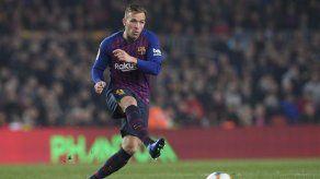Arthur afirma que sólo quiere seguir en Barcelona