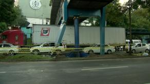 Reabren la vía pero puente peatonal del Complejo Hospitalario permanece cerrado