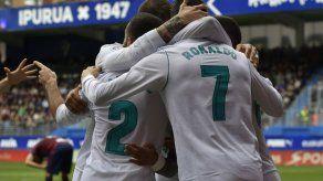 Cristiano suma otro doblete y Madrid gana en Eibar