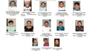 Detienen en El Salvador a 72 pandilleros acusados de homicidios