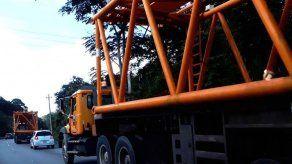 Restringen permisos de traslados de carga sobredimensionada hasta el 5 de abril