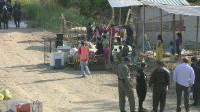 Con férreo operativo policial desmantelan zona tomada por precaristas en Pedregal