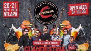No te pierdas el Clandestina Experience 2k19 el 20 y 21 de septiembre