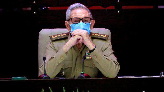 El líder cubano y exmandatario, Raúl Castro.