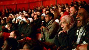 Papa invitó a 2000 indigentes