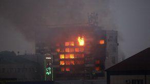 9 muertos en un tiroteo en la capital de Chechenia
